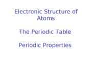 Lect 8 Electronic Structure-Periodic Properties-2010