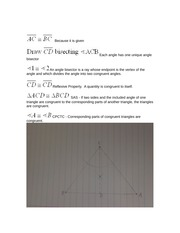 Isosceles theorem proof