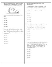 Conservation of Energy without Friction MC Questions