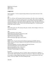 SOAP Note #2 Graded.docx