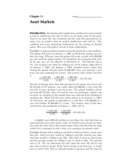 11. Asset Markets - Solutions