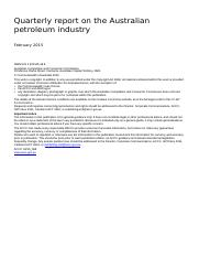958_Quarterly report on the Australian petroleum industry_Feb 2015_replacement.doc