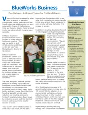 Resort - Article, Doubletree Hotel as Green Choice