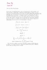 Final Exam Review Solution on Calculus II