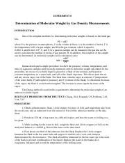 Experiment 8 Molecular Weight by Gas Density Measurements rev DR Feb 25 (1).pdf