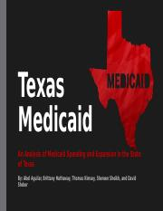 Medicaid Budgeting Project