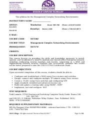 NET200_Management_Complex_Networking_Environments
