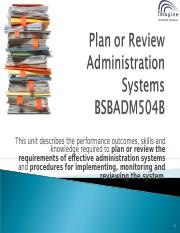 BSBADM504B POWERPOINT V2.ppt