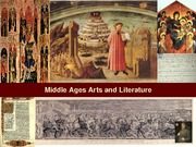 21 Middle ages arts and Literature 032411