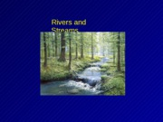 Lecture 18 Rivers I