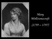 Wollstonecraft and Equiano