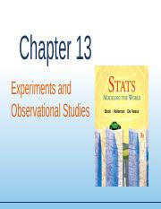 Chapter13 - Experiments and Studies (1).ppt