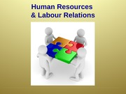 HR and Labour Relations