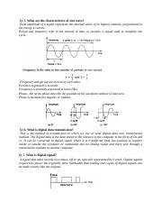 What are the characteristics of sine wave