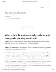 Are markets efficient_ _ Chicago Booth Review.pdf