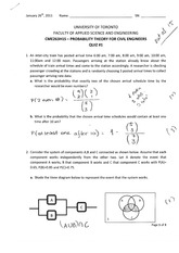CME263 Official Material 2011 Quiz and Midterm Solutions