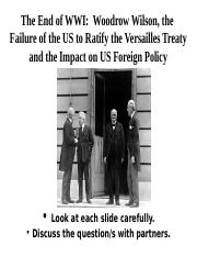 Treaty of Versailles Activity.ppt