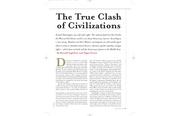 GOVT 331 Inglehart - True Clash of Civilizations