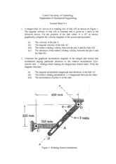 Tutorial Sheet 6 Solution