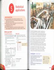 Ch. 5 - Statistical Applications