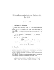 sample midterm-solutions