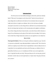matthew hester biblical worldview essay biblical worldview 4 pages application paper