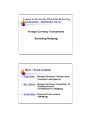 Week 8_Foreign Currency Translation