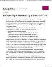 How+One+Stupid+Tweet+Blew+Up+Justine+Sacco's+Life+-+NYTimes