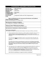 EN0407_assignment outline and part A specification 2015_16.docx