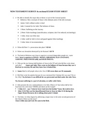 NT study guide 4