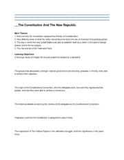 The Constitution And The New Republic-test2