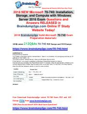 March-2018]Braindump2go 70-740 VCE Dumps Free Share(40-50