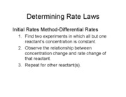 Lecture19, 2-25-08 Integrated  rate laws