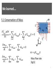 conservation of mass definition pdf