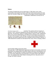 Essay on Switzerland