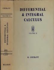 Courant-DifferentialIntegralCalculusVolIi_text