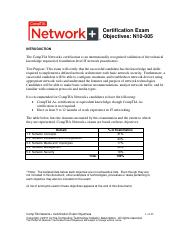 net+ cert exam objectives.pdf