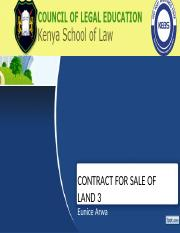 CONTRACT FOR SALE OF LAND 3.pptx