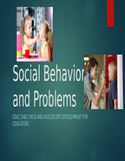 Week 10 (Social Behavior and Problems).pptx