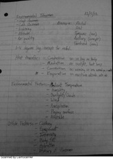 AT214L environmental illnesses class notes