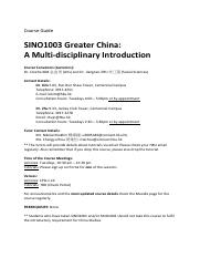 SINO1003 Course Guide_Fall_2019.pdf