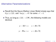 07AlternativeParameterizations