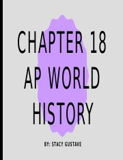 Ap World History Chapter 18.pptx