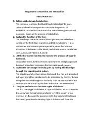 Assignment 10 Nutrition and Metabolism (3).docx