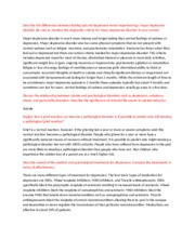 essay describe the diathesis stress model and use the model to 2 pages essay 5