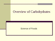 Lecture 4a Overview of Carbohydrates (2)-2