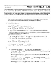 Math 121 practice midterm 2 -answers