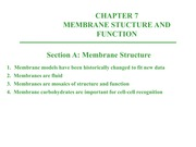 Chapter 7-CellMembraneFunction - Notes
