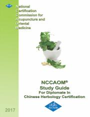 Chinese Herbology Study Guide.pdf