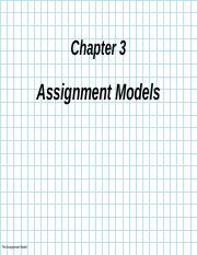 CHAPTER III Assignment Model.ppt